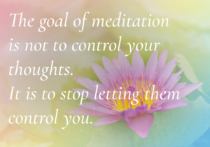 Stop letting your thoughts control you
